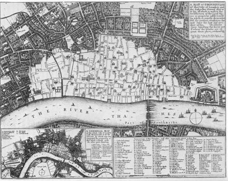 While few died in the making of this blank area on the map of London, many more were killed filling it in again.